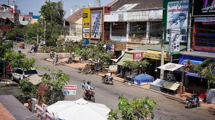 Siem Reap Pub Street area