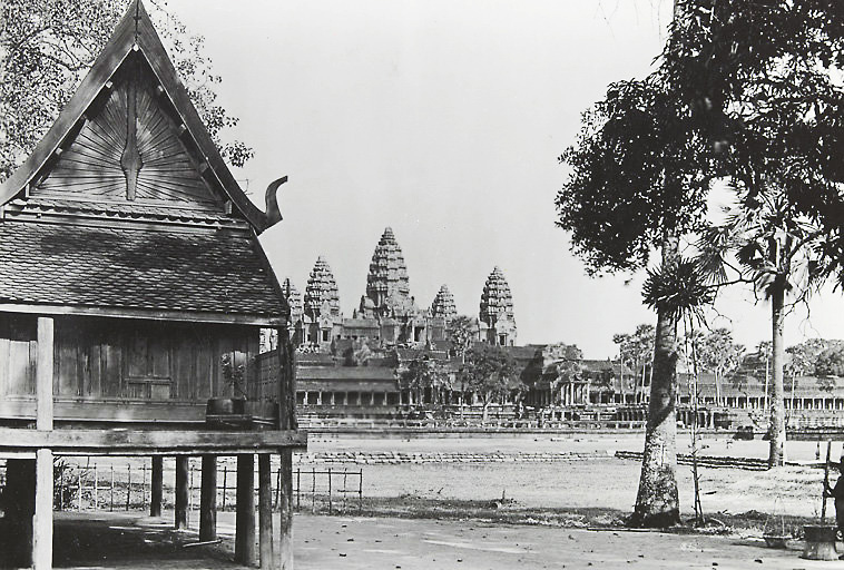 Angkor Wat - Picture taken between 1919 and 1926