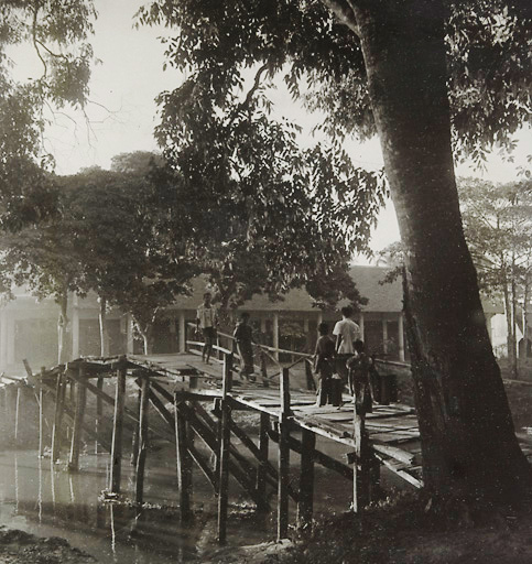 The Siem Reap river, January 1947