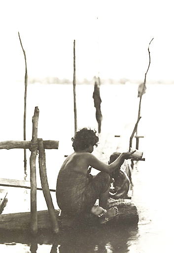 Tonlé Sap lake - Picture taken between 1919 and 1926