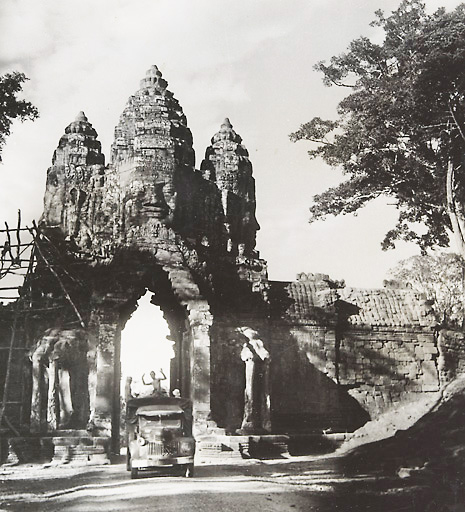 Angkor Thom Entrance Gate