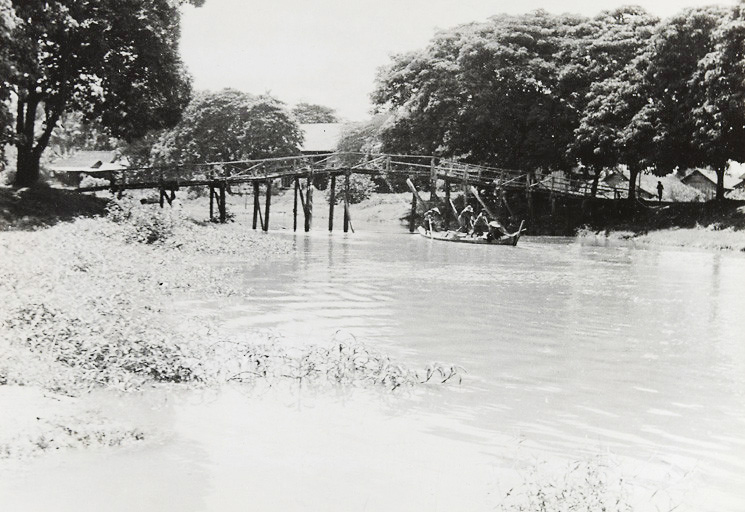 The Siem Reap River in 1948