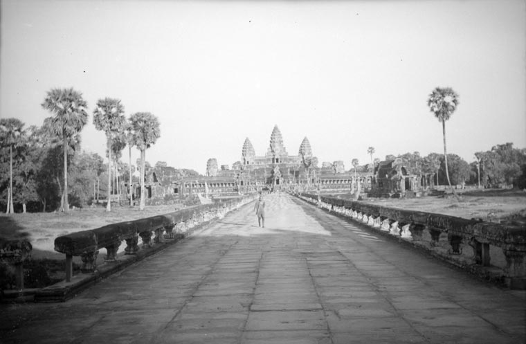 Angkor Wat historic picture