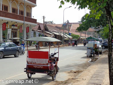 Siem Reap's Old Market in 2013