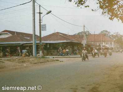 Siem Reap's Old Market in 1998