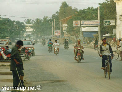 National Road 6, Siem Reap, 1999