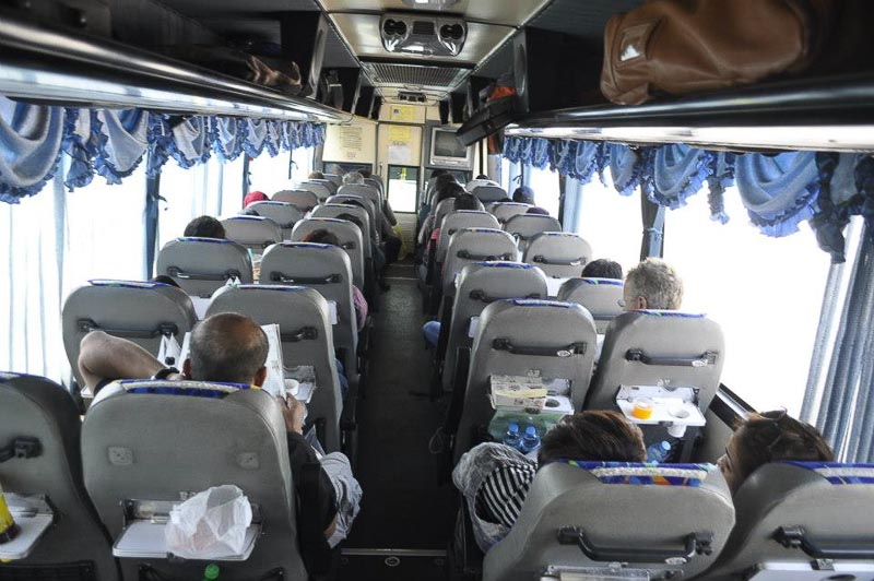 Bangkok to Siem Reap by direct bus - trip report