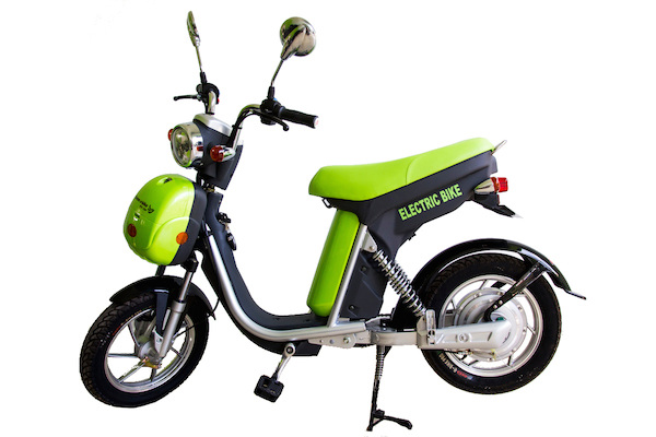 Siem Reap green e-bike