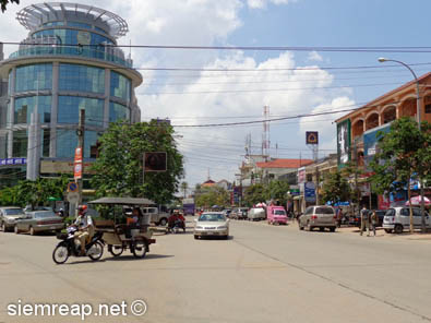 Canadia Bank, Sivuthu Road, Siem Reap, 2013
