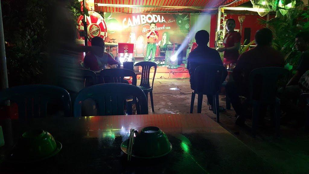 Sensabbay 7 beer garden in Siem Reap's Khmer Pub Street