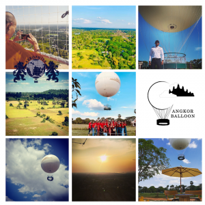 Fly the Angkor Balloon in Siem Reap