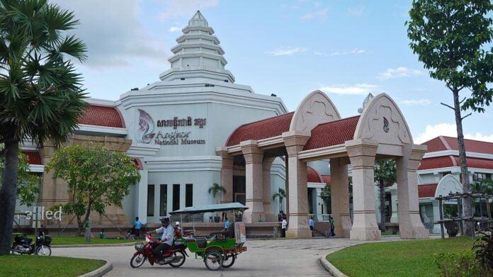 Angkor National Museum in Siem Reap, Cambodia