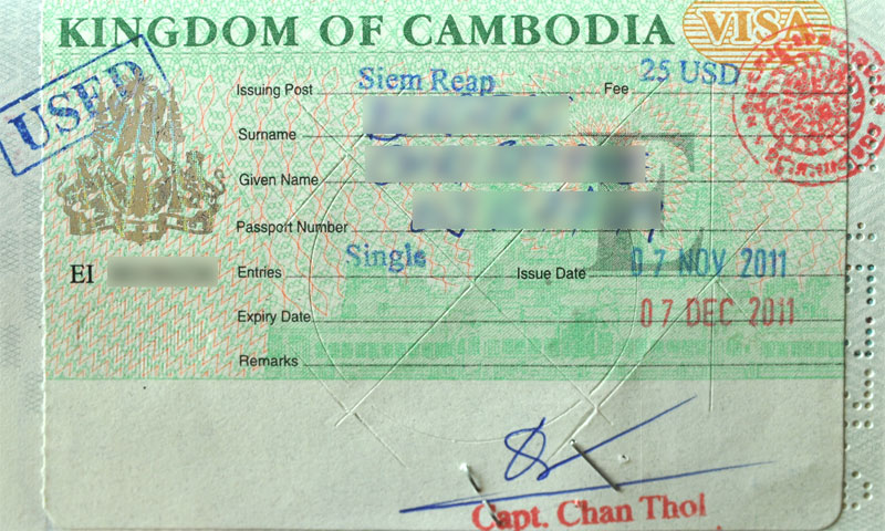 Cambodia Visa Requirements - Siem Reap Travel Info & Essentials