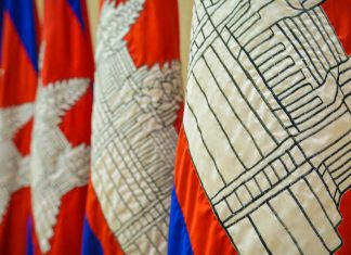 Cambodian Flags