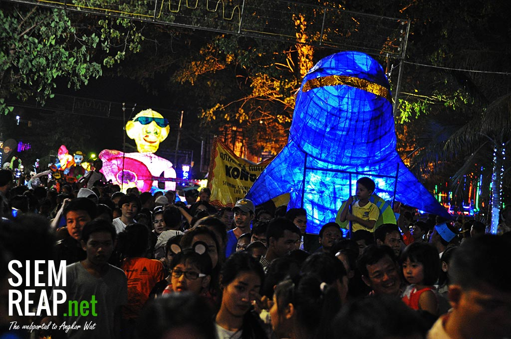 2017 edition of the Giant Puppet Parade in Siem Reap