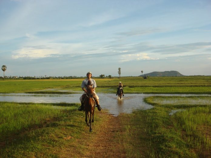 Horseback Riding in Siem Reap, Cambodia