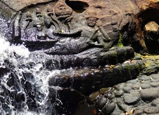 Kbal Spean's River of a 1,000 Lingas.