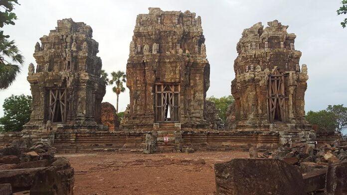 Prasat Phnom Krom, Siem Reap, Cambodia