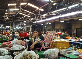 The Old Market or Phsar Chas in Siem Reap, Cambodia