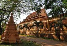 Wat Damnak is Siem Reap's biggest Pagoda.