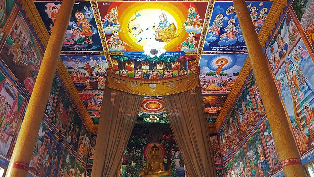 Wat Kesararam Pagoda in Siem Reap