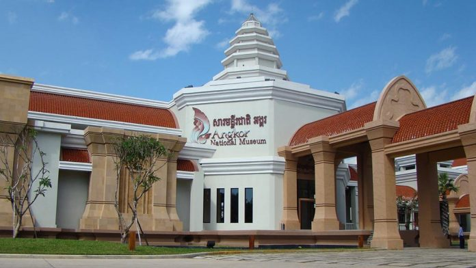 The Angkor National Museum in Siem Reap, Cambodia