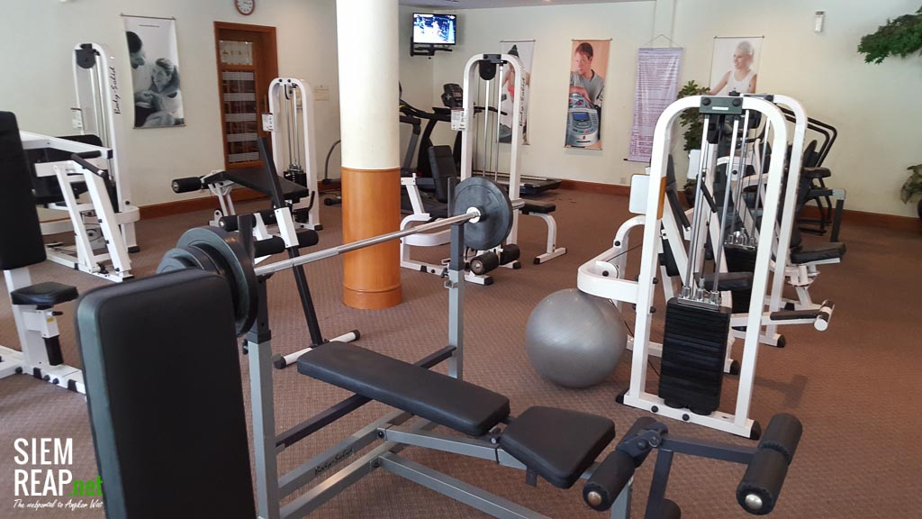 Gym access is included in the day rate