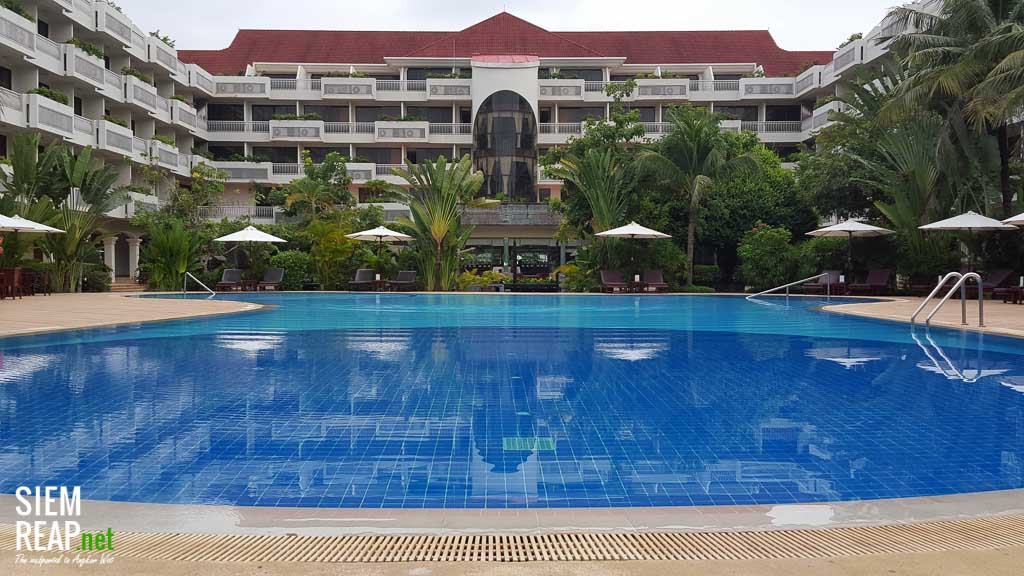 Century Hotel offers one of the biggest pools in Siem Reap