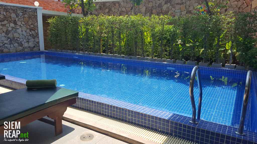 Swimming pool at Rei Angkor Boutique Hotel