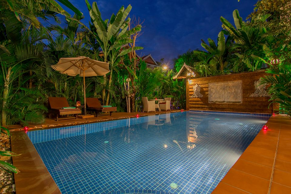 Suon Angkor Boutique swimming pool