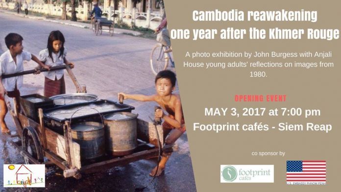 Photo exhibition at Footprints Café