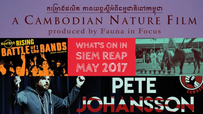 The best Siem Reap Events in May 2017
