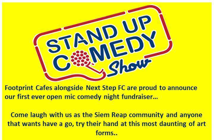 Open Mic Comedy Night with Next Step FC - events in Siem Reap