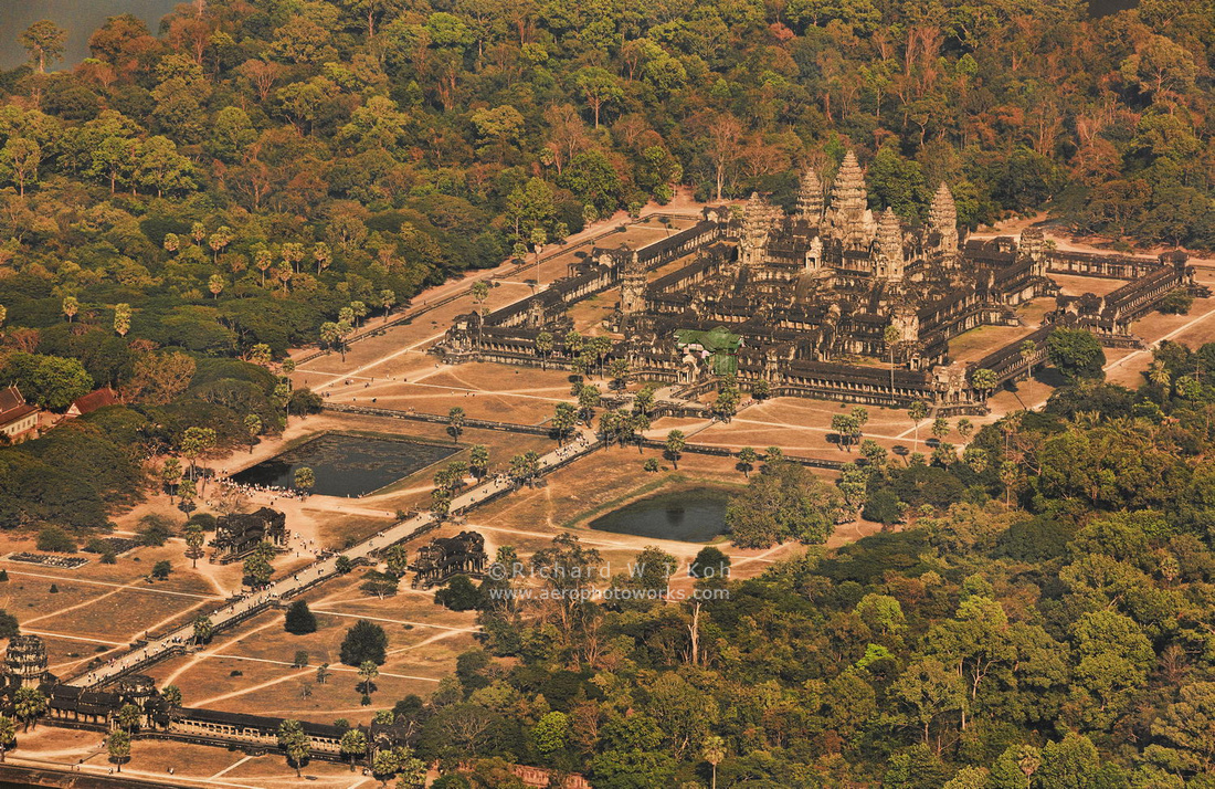 Angkor Wat Aerial Photo