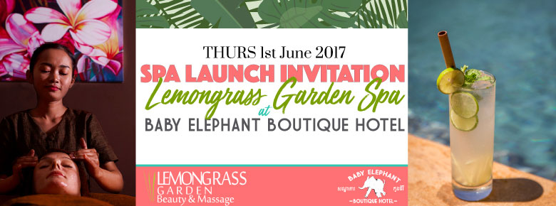 Lemongrass Garden Spa Launch at Baby Elephant Boutique Hotel
