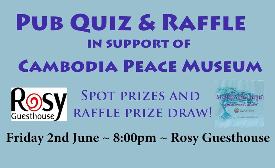Pub Quiz for the Cambodian Peace Museum