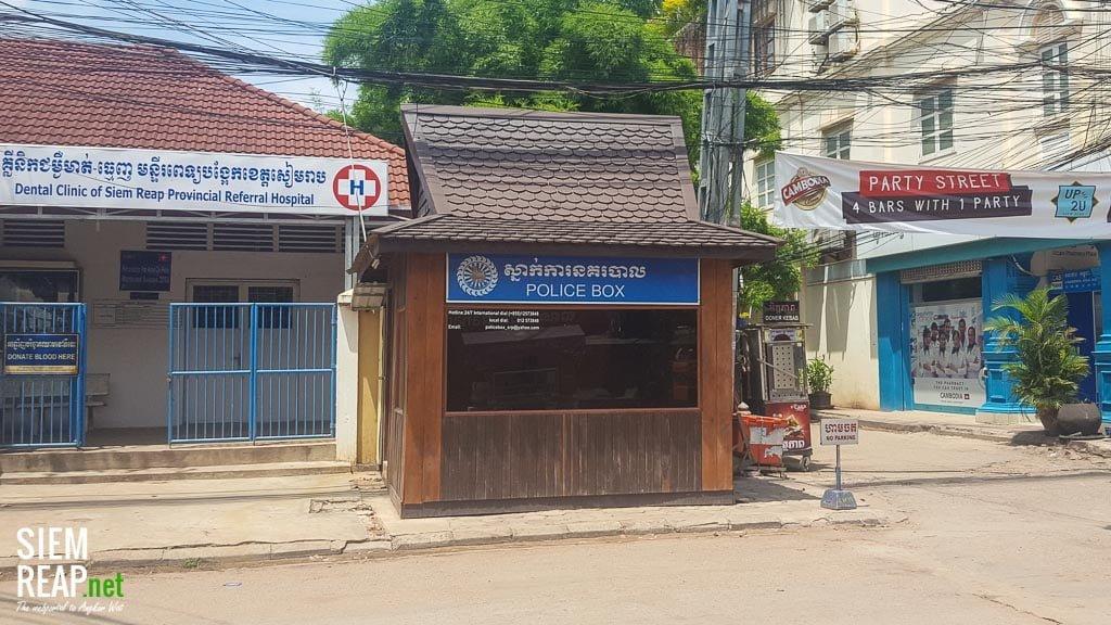 Police Box, Pub Street, Siem Reap