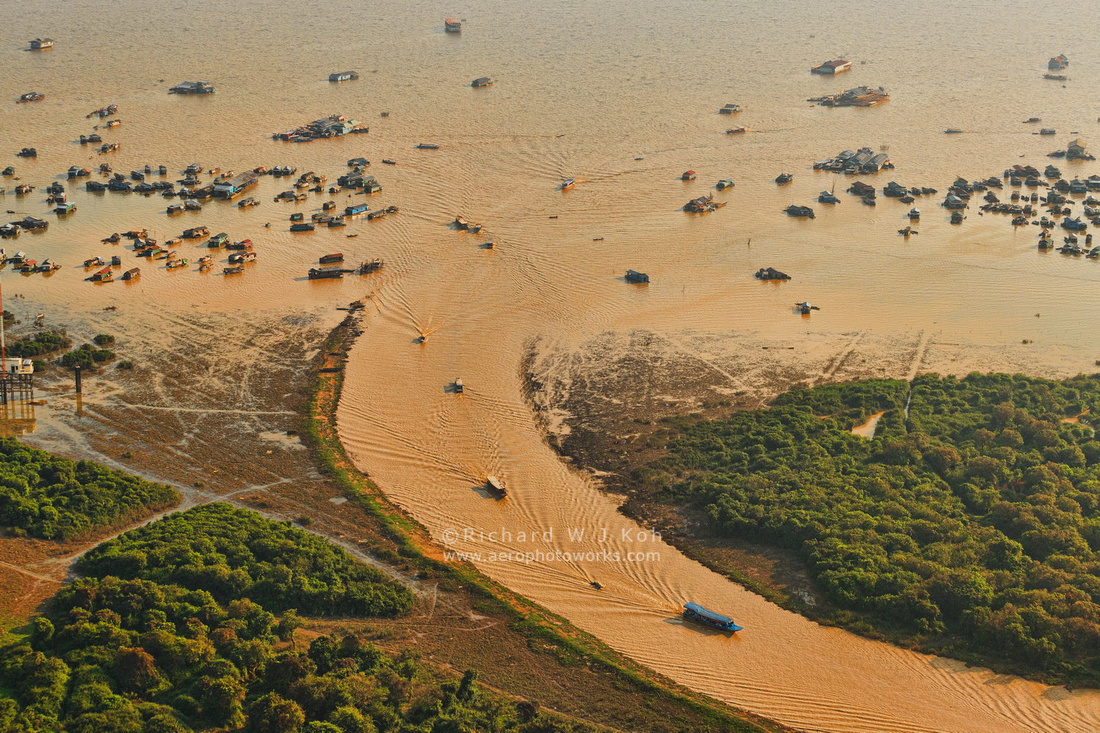 Tonle Sap Aerial Photo