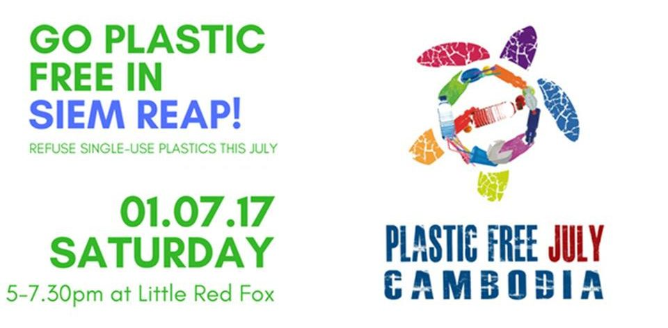 Plastic free Siem Reap launch event