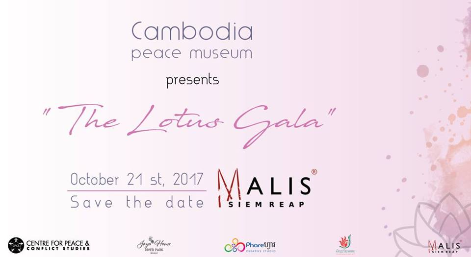 Lotus Gala in support of Cambodia Peace Museum