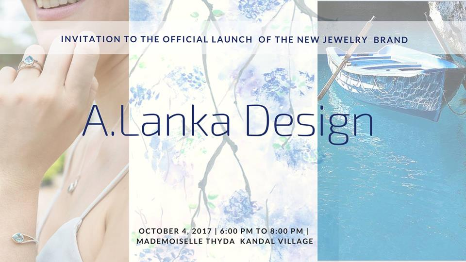 Launch of A.Lanka Design Jewelry Brand in Siem Reap