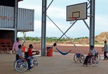 Siem Reap's first wheelchair sports centre opens its doors