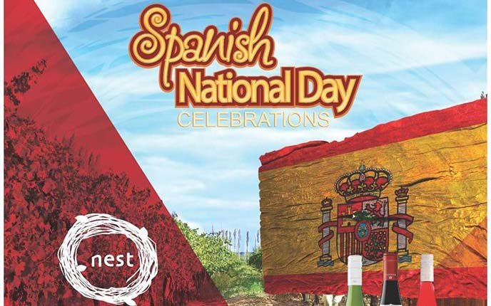Spanish National Day at Nest Restaurant