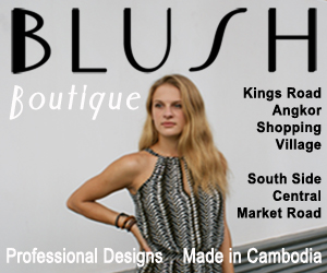Visit Blush Boutique for fashion made in Cambodia!
