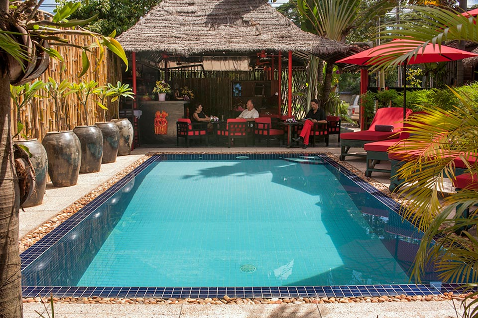 Resort Lla Villa Loti Siem Reap - Pool View