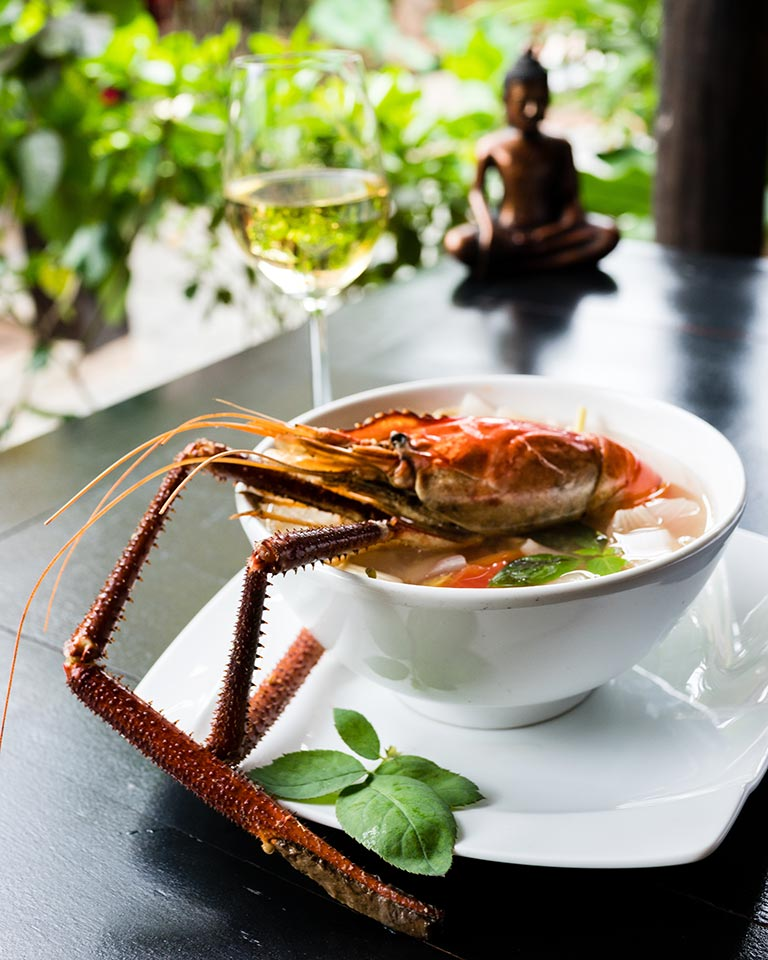 Resort La Villa Loti Siem Reap - river lobster