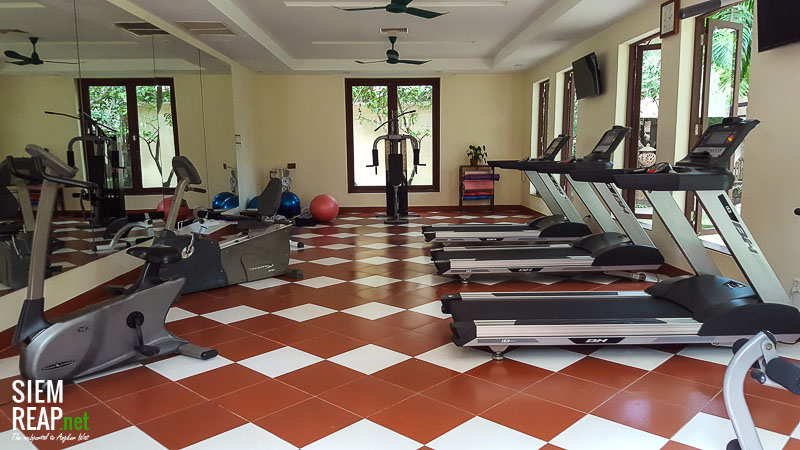 Royal Angkor Resort gym