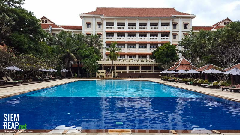 Royal Angkor Resort swimming pool
