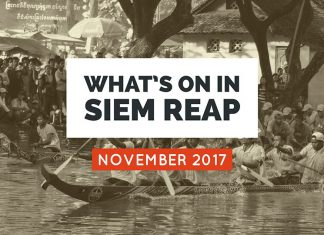 Siem Reap Events November 2017