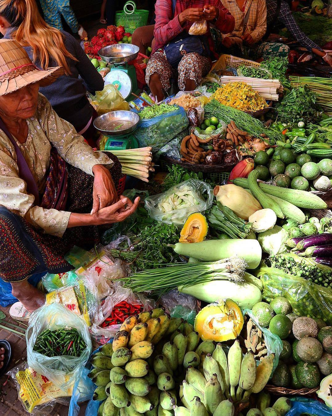 The local markets of Siem Reap are amazing